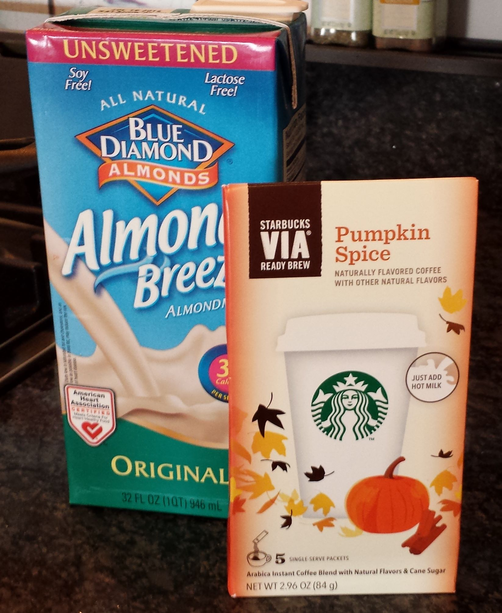 Starbucks VIA Pumpkin Spice: A Dairy Free At-home Drink