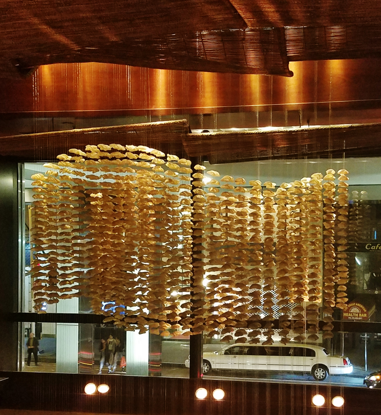 Nobu Fifty Seven Oyster Shell Chandelier The Dairy Free
